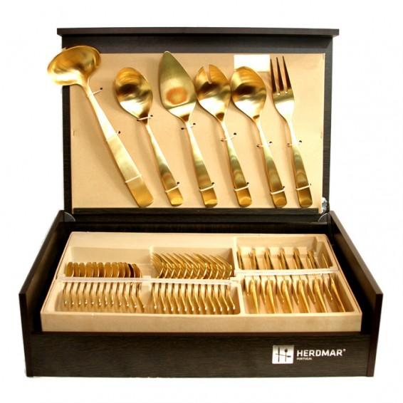 Cubiertos Perugia Oro
